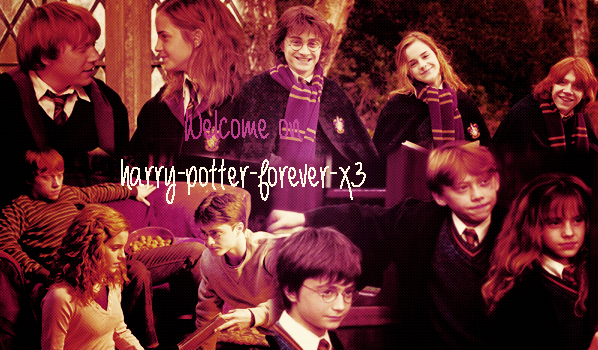 Bienvenue sur harry-potter-forever-x3 et newsletter :)