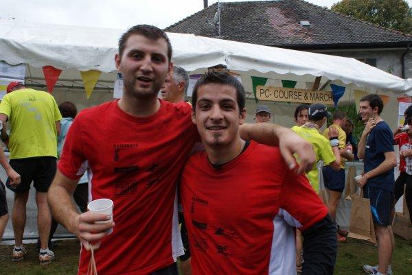 Course de la Saint-Bruno à Contamine dimanche 7 octobre 2012