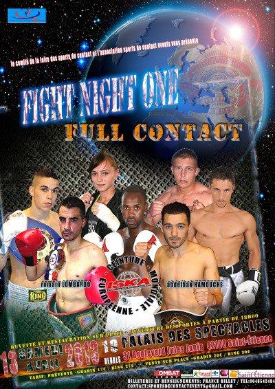 FIGHT NIGHT ONE SAINT-ETIENNE