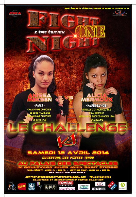 GALA FIGHT NIGHT ONE 2ème édition