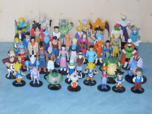 A vendre collection Dragon ball GT