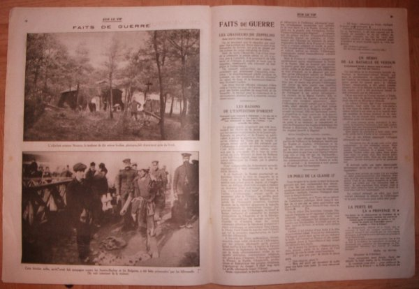 Sur le vif n° du 1er Avril 1916