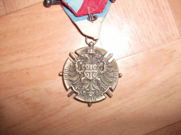 Médaille commémorative serbe
