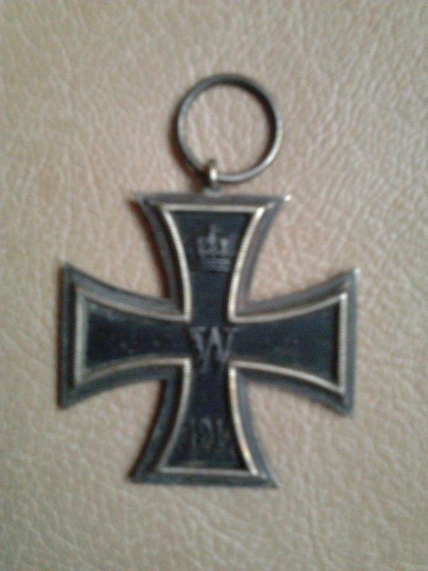 Croix de fer allemande 1914