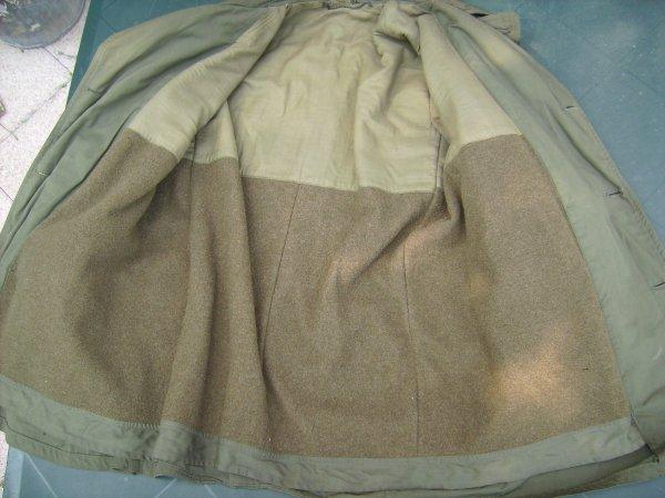 Veste Mackinaw en bon état avec sa doublure en laine et un reste d'étiquette taille 38