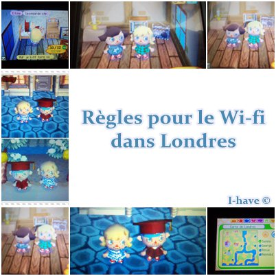 Règles pour les Wi-fi dans Londres.