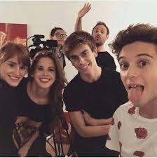 Katja ,Cande,Agus et Rugg