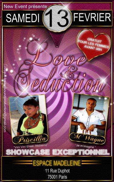 Love & Seduction le 13 Février 2010 @ l'espace Madeleine (Paris)
