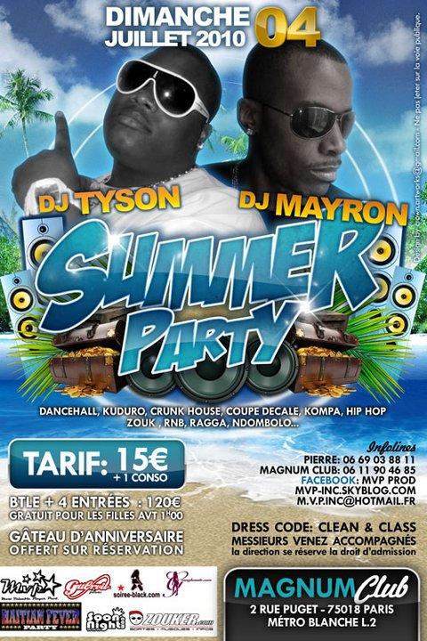 dimanche 4 juillet - Summer party -