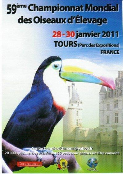 Résultats du mondial Tours 2011