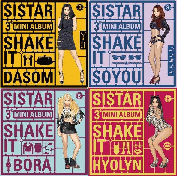 ComeBack Sistar (✿ ♥‿♥)