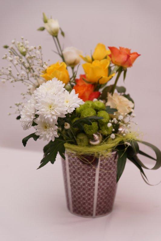 Pot de roses