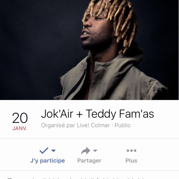 Jok'Air du MZ groupe + Teddy Fam'as en concert