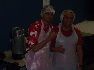 En cuisine!!