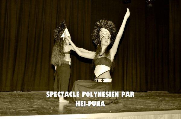 DINER SPECTACLE POLYNESIEN - 19 MAI 2012 - ESPACE CULTUREL DE SAINT RENAN
