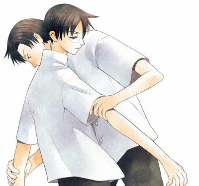 Watanuki et Domeki