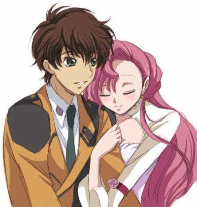 Nouveaux couple Suzaku et Euphie