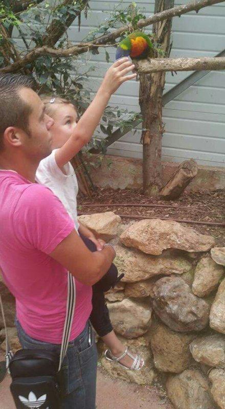 Journée au zoo en famille ❤??