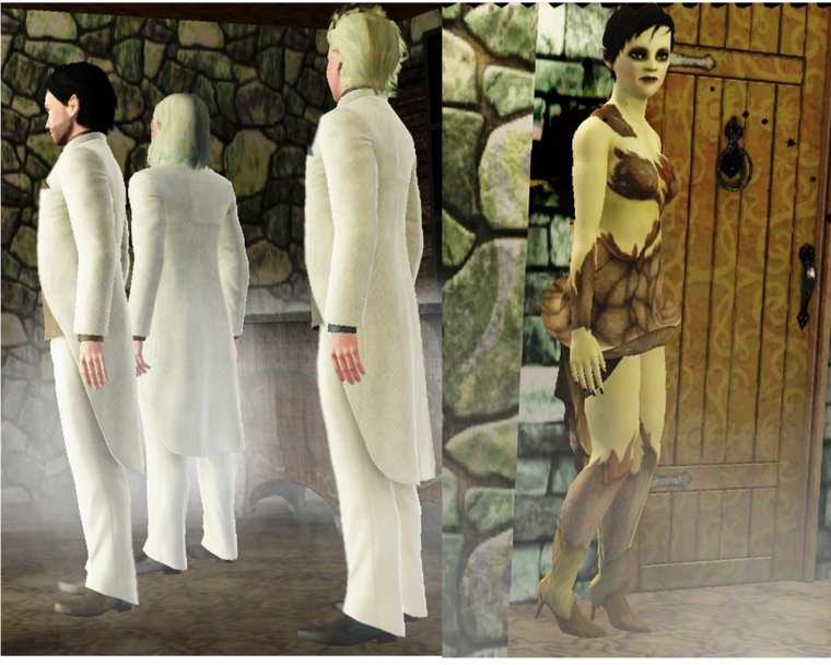 20. Le costume blanc