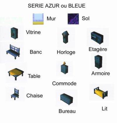 Série Azur ou Bleue