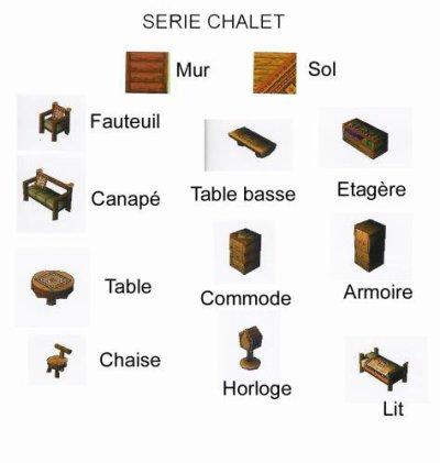 Série Chalet