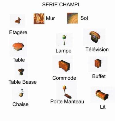 Série Champi