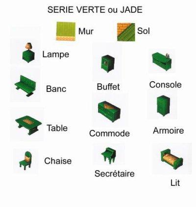 Série Verte ou Jade
