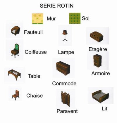 Série Rotin