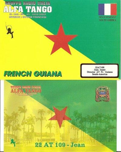 FAVORITE QSL FRENCH GUIANA