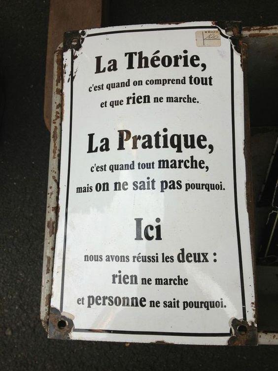 UN PEU D'HUMOUR .........