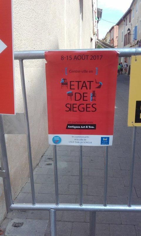 EXPOSITION DANS LE CENTRE VILLE ...ETAT DE SIEGES §