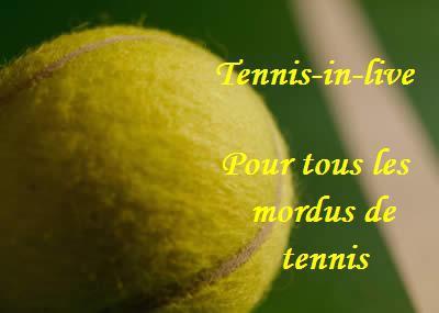 le tennis en live !