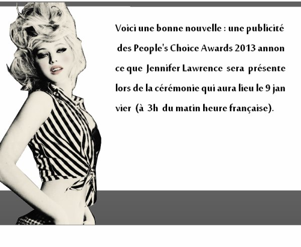 PEOPLE CHOICE'S AWARD
