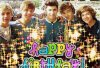Lundi 23 juillet : c'était l'anniversaire des one direction ! <3 two years !  Love you guys !