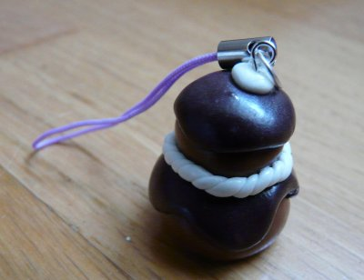 NEW! La religieuse au chocolat.