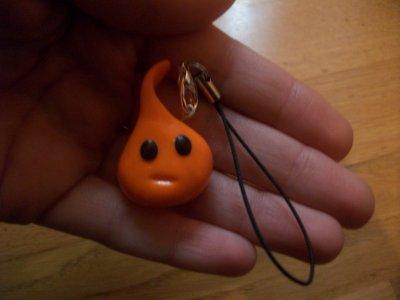 Strap : La crapule orange.