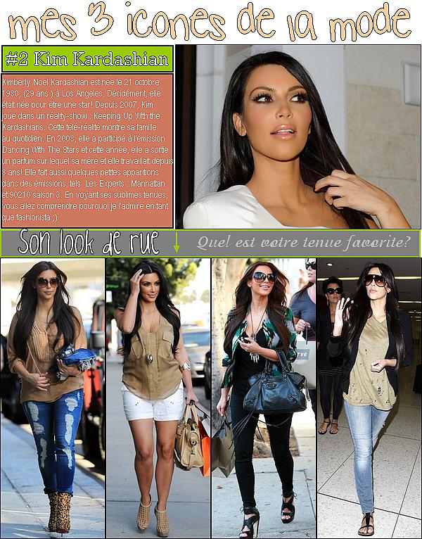 3 icones de la mode ; kim kardashian
