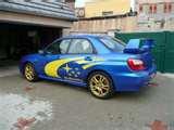 Qu'elle belle voiture de rally