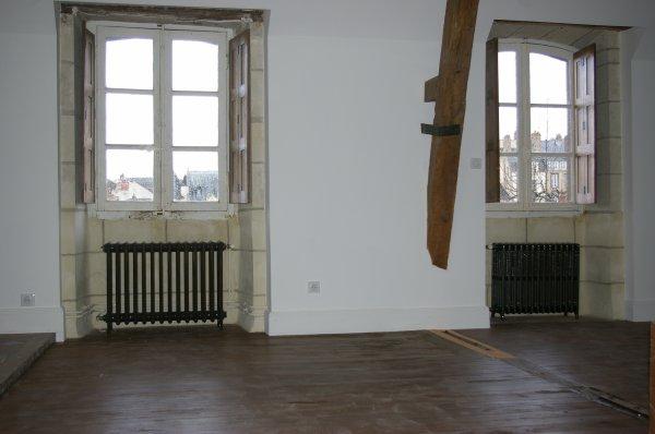 La restauration de l'étage
