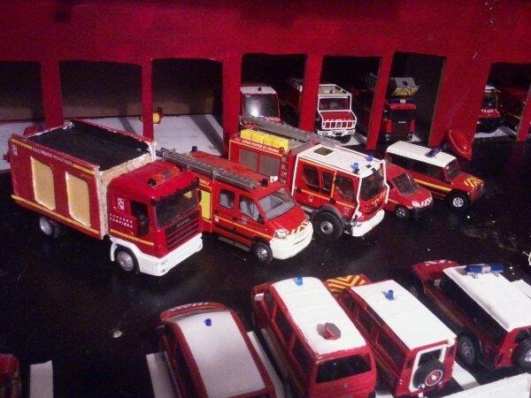 Véhicule feux urbain et secours routier