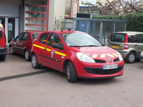 Renault Clio VLI CSP Ajaccio SDIS 2A