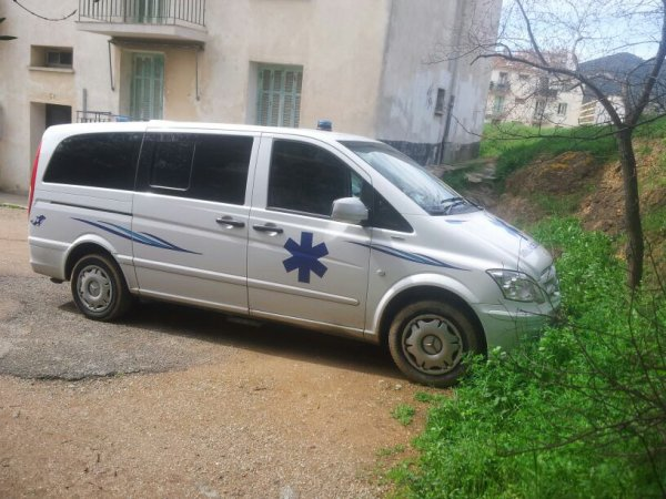ambulance priver ajaccienne