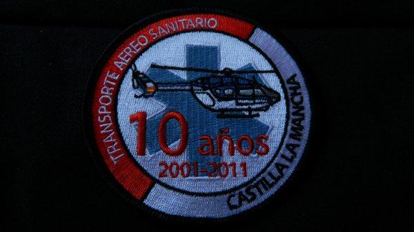10 ans des Transport Aero sanitaire espagne