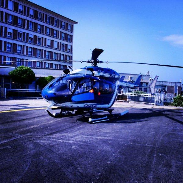 Helicoptere Section Aerien de la Gendarmerie D'Ajaccio  EC 145