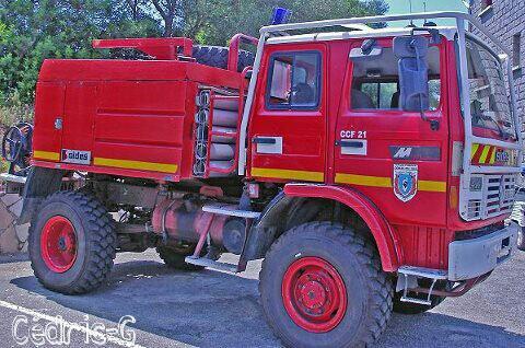 Camion Citerne Feux de Foret Moyens CI Petreto SDIS 2A