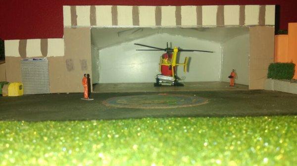 Avancement de ma base hélicoptère sécurité civile d'Ajaccio /Dragon20