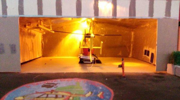 Base hélicoptères