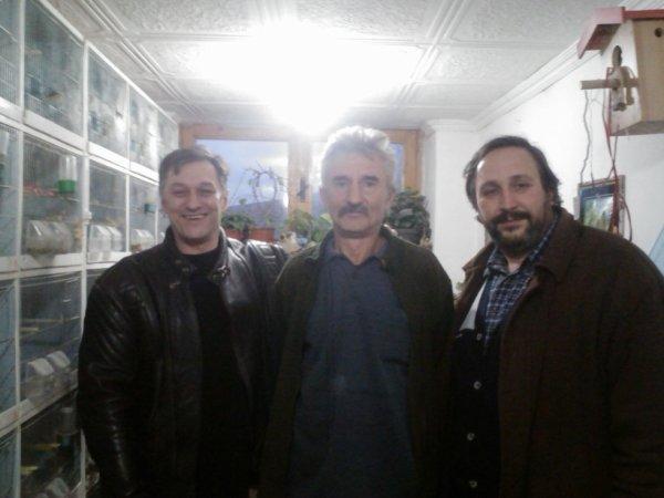 in visit to Tibor Varga (26.12.2012)