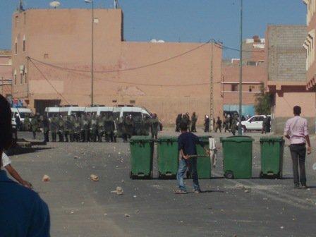 intifada de chari3 jded sur geulmim 26.10.2010