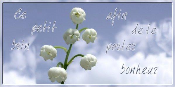 Bonne fête du 1 er mai et du travail et bon dimanche